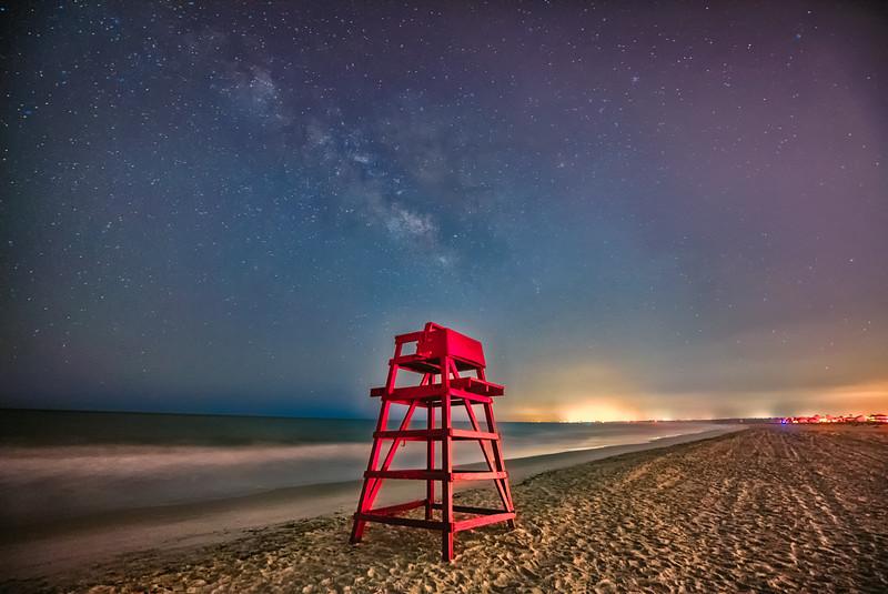 Milky Way Mayport Beach SR LR HDR