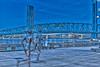 Blue Hour Blue Bridge Run