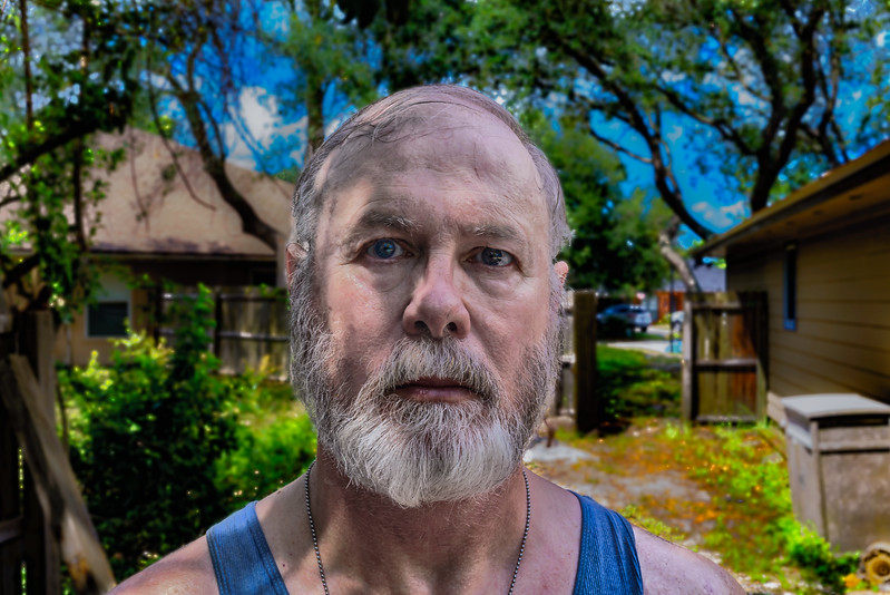 Sweating in Florida Sun