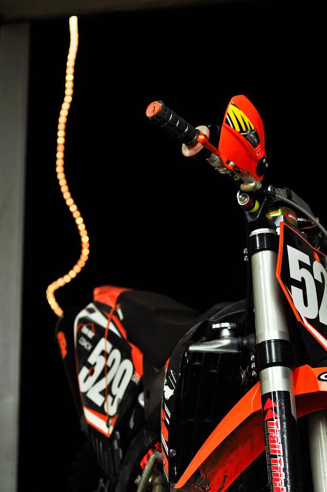Bikes and Christmas lights.........