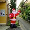 Inflated Santa - Tokyo, Japan