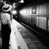 Light of the Train - Kyoto, Japan