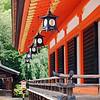 Hanging Lanterns, Yasaka Shrine - Kyoto, Japan