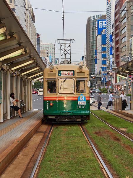 Streetcar - Hiroshima, Japan
