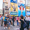 Selfies with the Glico Man - Osaka, Japan