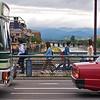 Pedestrians, Shijo Dori Bridge - Kyoto, Japan