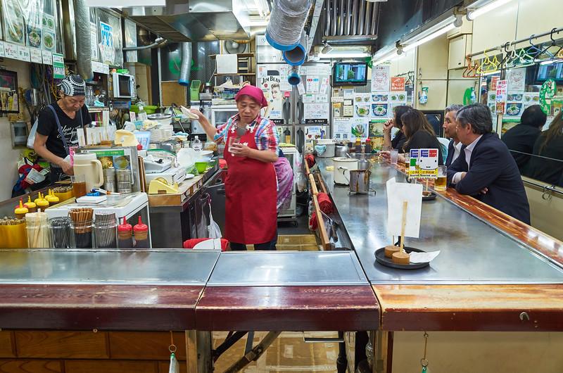 Okonomimura Food Stall - Hiroshima, Japan