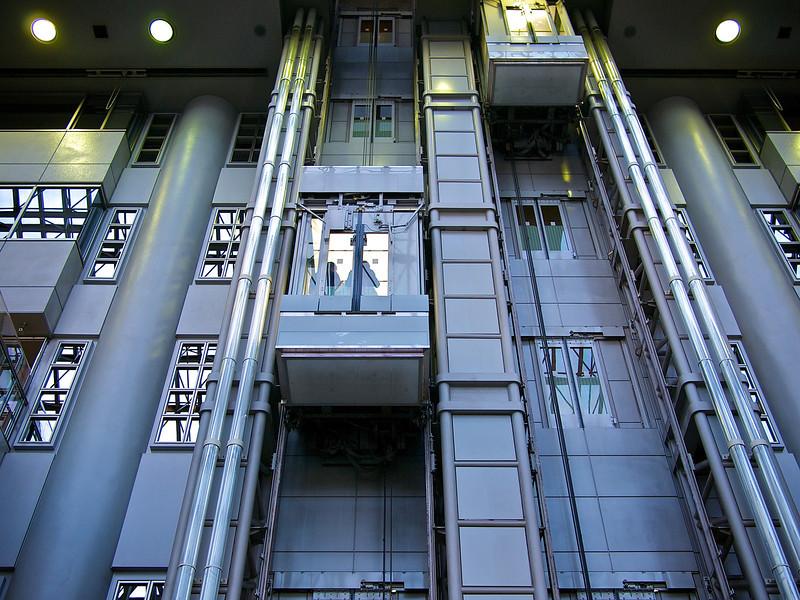 Terminal 1 Elevator, Haneda Airport - Tokyo, Japan