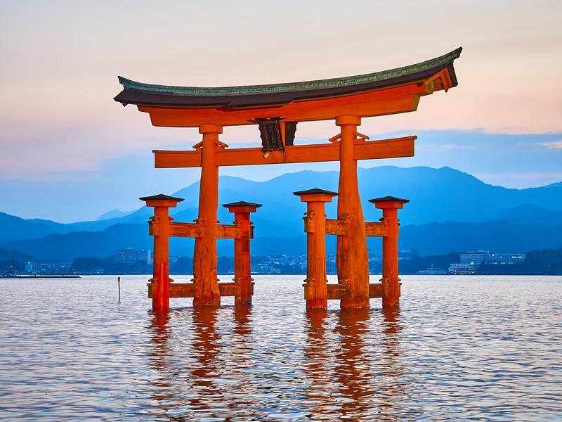 Itsukushima Torii - Miyajima, Japan
