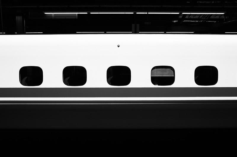 Abstract Shinkansen - Yokohama, Japan
