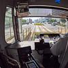 Interior, Streetcar Fisheye - Hiroshima, Japan