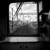 Framed Tracks, Keihan Train - Hirakata, Japan