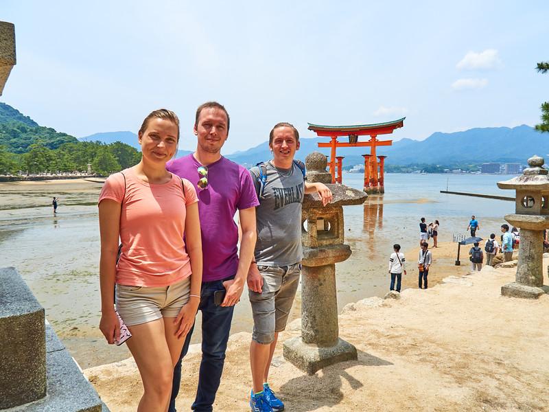 European Tourists - Miyajima, Japan