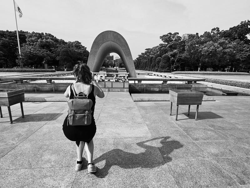 Memorial Cenotaph - Hiroshima, Japan