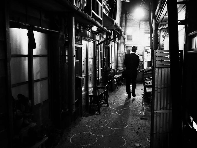 Salary Man in 1958 - Yokohama, Japan