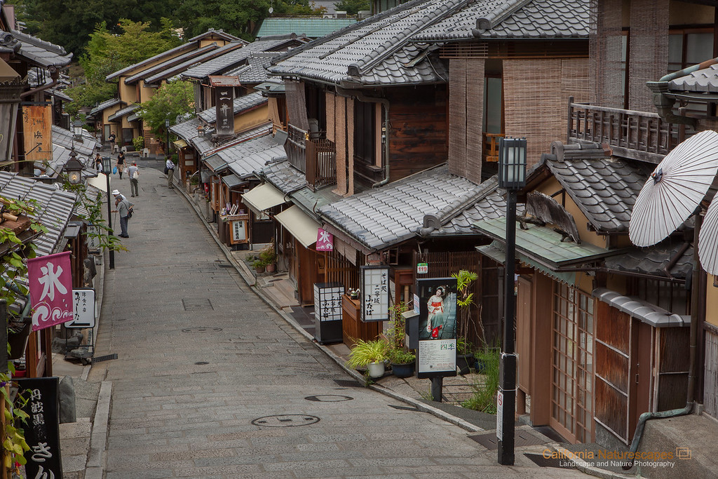 Historic Streets of Kyoto
