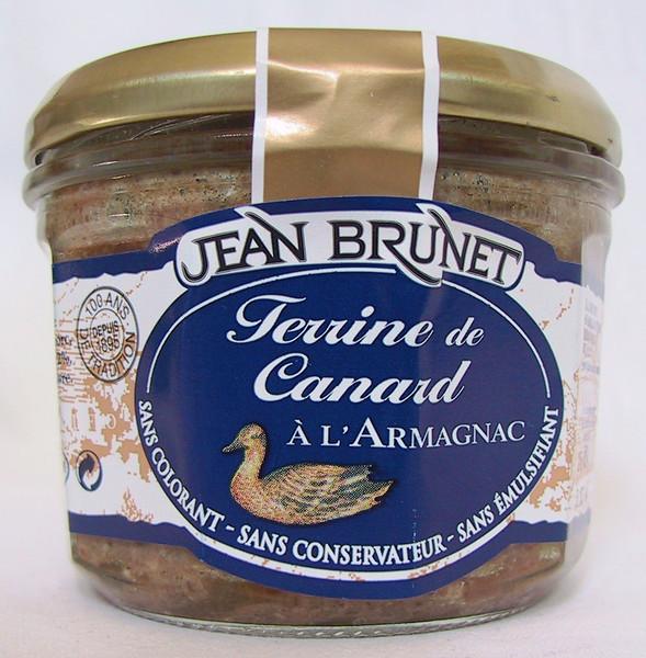 """Antienos paštetas su brendžiu""""Jean Brunet"""", 180g"""