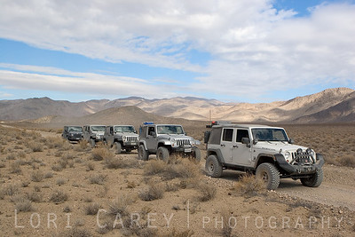 Death Valley Jeep Trails Jeep Wranglers in Death Valley
