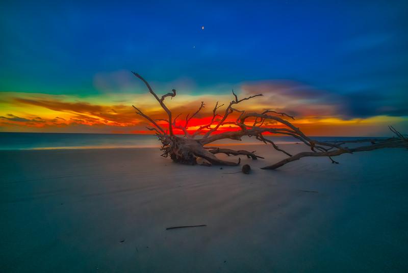 Blue Hour Mars Venus Sunrise