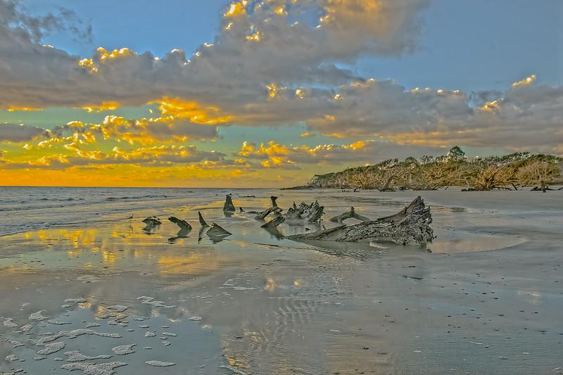 Super Low Tide Sunrise