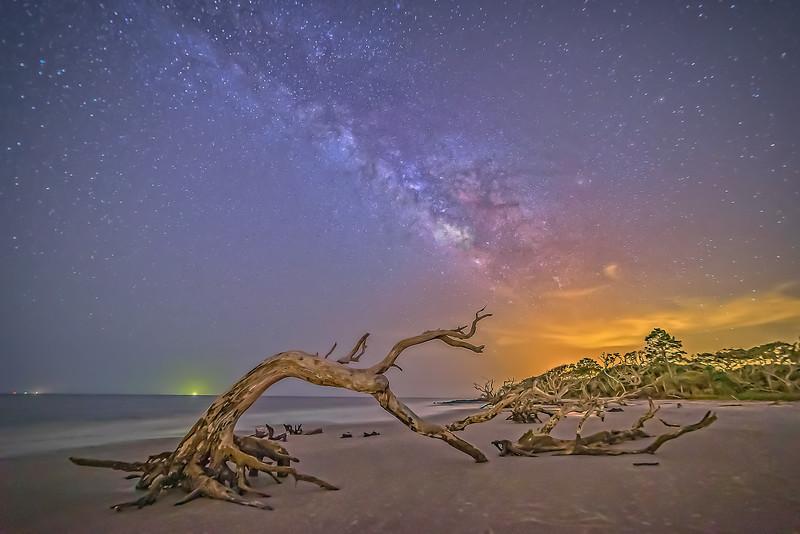 2015 July First Night on Driftwood Beach