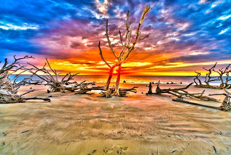 Sunrise Dance on the Beach