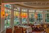 Fall Sunset Dining Room