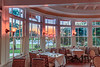 Jekyll Hotel Dining Room Sunset