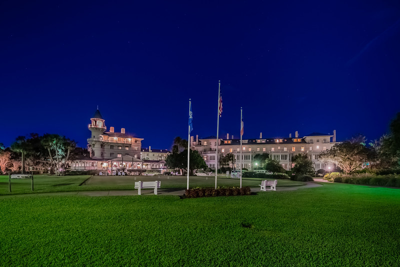 Jekyll Island Club Hotel Blue Hour