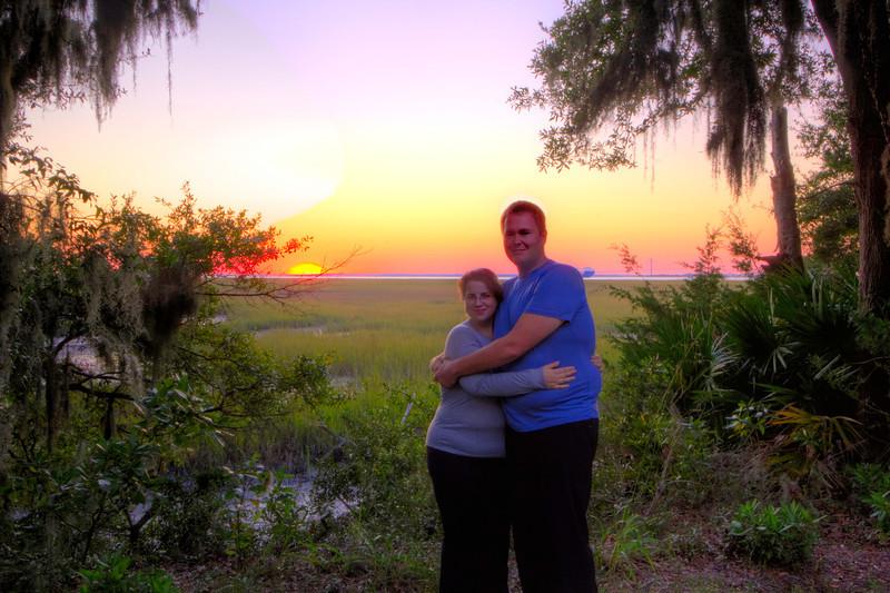 Brian and Jenn