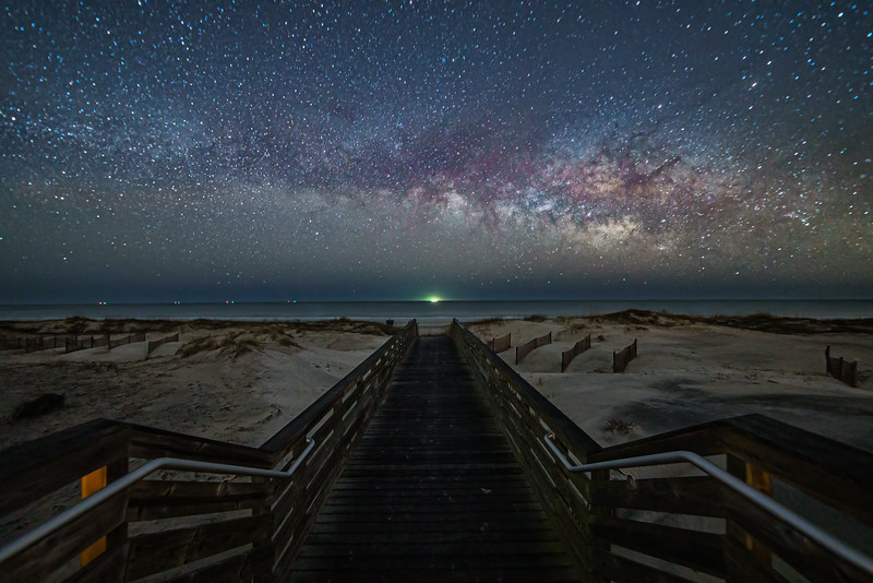 Boardwalk to the Universe