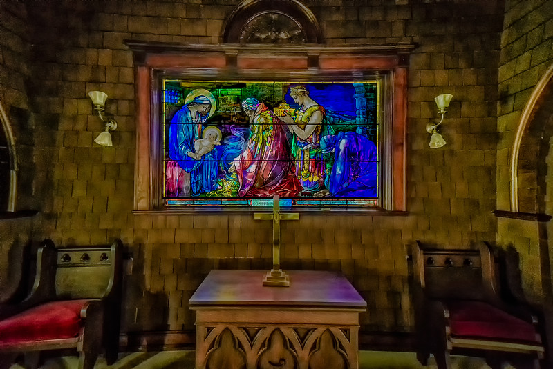 Faith Chapel Tiffany Glass
