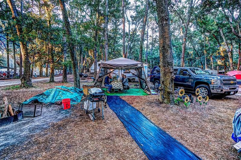 Supper in Camp