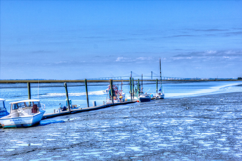 Low Tide Jekyll Island Ga.