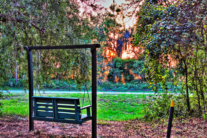 Campground Sunset hdr