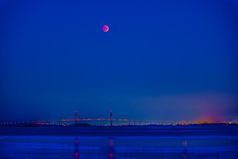 Blue Hour Eclipse