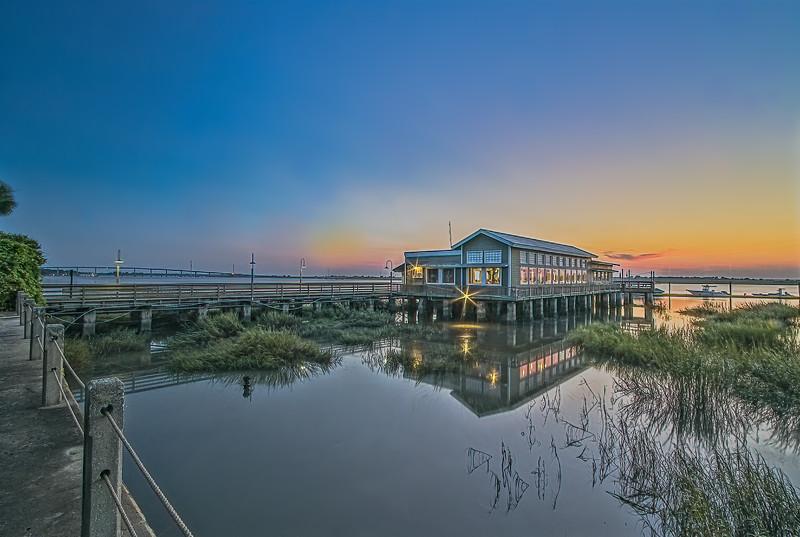 The Wharf Restaurant at Sunset