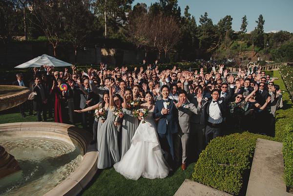 Jessica + Anthony // Greystone Mansion in Beverly Hills, California