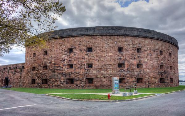 Castle William Military Prison, NYC