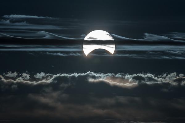 Annular Eclipse 1 by Jim Cutler