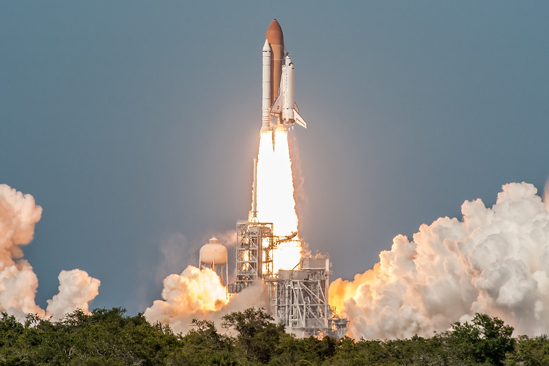 Discovery Launch STS-124