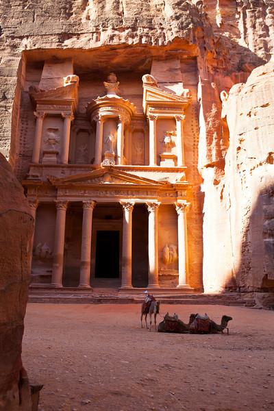 PETRA. UNESCO WORLD HERITAGE SITE. THE TREASURY. JORDAN. [3]