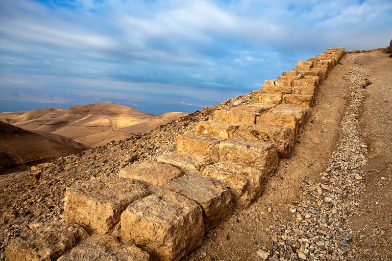 MKAWER. PATH TO THE HERODUS CASTLE. JORDAN. [1]
