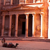 PETRA. UNESCO WORLD HERITAGE SITE. THE TREASURY. JORDAN. [2]
