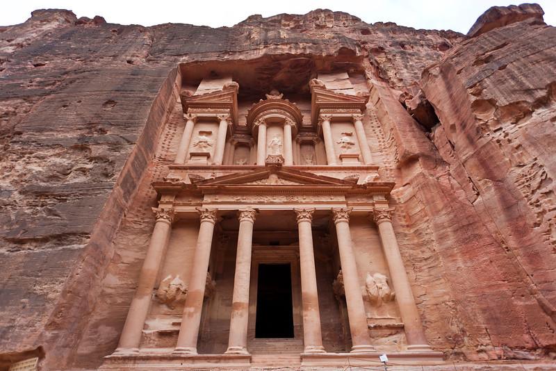 PETRA. UNESCO WORLD HERITAGE SITE. JORDAN.