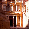 PETRA. UNESCO WORLD HERITAGE SITE. THE TREASURY. JORDAN. [4]