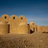 QASR AMRA CASTLE. BATH HOUSE. DESERT CASTLES. JORDAN. MIDDLE EAST.