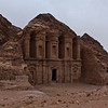 PETRA. UNESCO WORLD HERITAGE SITE. THE MONASTERY. JORDAN.