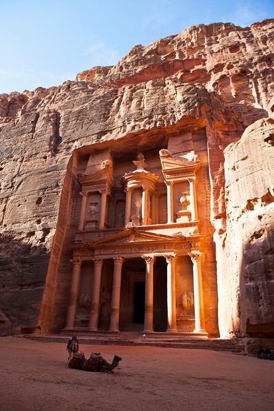 PETRA. UNESCO WORLD HERITAGE SITE. THE TREASURY. JORDAN. [5]