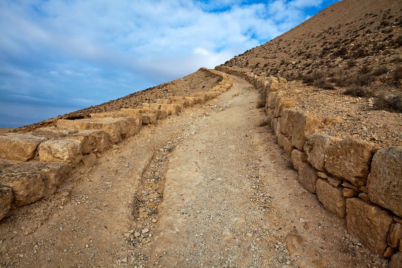 MKAWER. PATH TO THE HERODUS CASTLE. JORDAN. [2]